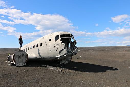 iceland on a budget - plane