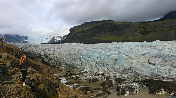 Iceland's Ring Road - Glacier